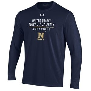 US Naval Academy Performance Cotton Tee